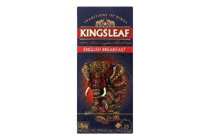 Чай черный Kingsleaf English breakfast