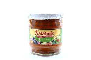 Икра из баклажанов и овощей, обжаренных в аджике SalatMix с/б 390г