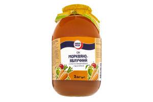 Сок морковно-яблочный Повна Чаша с/б 3л