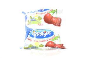 Йогурт Смачненький Фругурт Вишня п/е 2,5% 400г х16