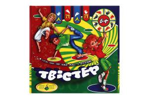 Игра настольная для детей от 6-ти лет Твистер Київська Фабрика Іграшок 1шт
