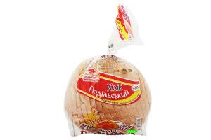 Хлеб пшеничный нарезанный Подольский Поліссяхліб м/у 650г