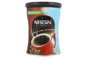 Кава натуральна розчинна гранульована Classic Nescafe з/б 100г