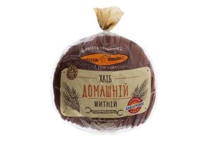 Хліб домашній житній, 0,9кг нарізаний скибками, в упаковці