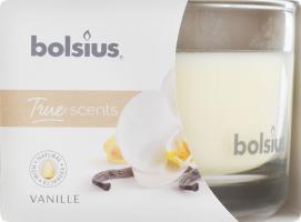 Свеча Bolsius Ваниль аромата в стекле 63/90мм