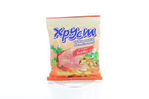 Сухарики со вкусом бекона Хруст м/у 35г