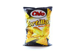 Чипсы Chio Tortilla chips nacho cheese 125г