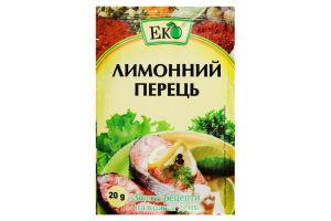Приправа Еко Перець лимонний 20г