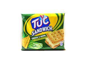 Печенье Сендвич Крекер со вкусом сыра и лука Tuc 112г