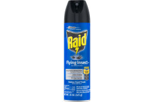 Raid Flying Insect Defense System Spray Outdoor Fresh