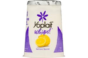 Yoplait Whips! Lowfat Yogurt Mousse Lemon Burst