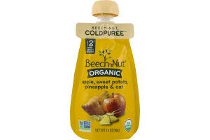 Beech-Nut Organic Stage 2 Apple, Sweet Potato, Pineapple & Oat
