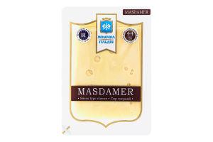 Сир 44% твердий Masdamer Молочна гільдія лоток 0.15кг