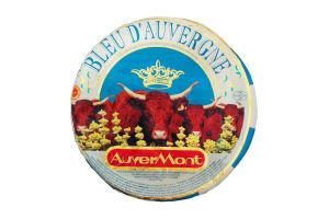 Сыр 50% Bleu d'Auvergne Auver Mont кг