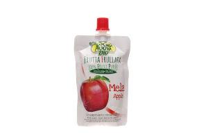 Пюре фрукт Natura nuova из яблок б/сах органичное