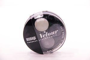 Тени для век тройные Velour effect №101 Luxvisage