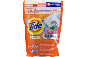 Tide Pods Plus Downy, April Fresh Scent - 32 CT