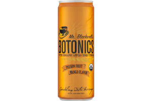 Mr. Blackwell's Botonics Sparkling Water Beverage Passion Fruit Mango