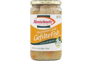 Manischewitz Gefilte Fish With Carrots In Jelled Broth