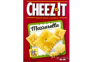 Cheez-It Baked Cracker Snack Mozzarella
