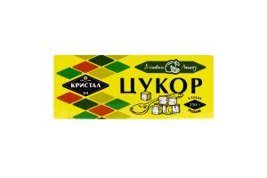 Цукор пресований в кубиках зі смаком лимона Кристал к/у 250г