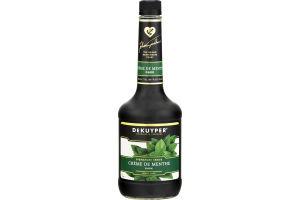 DeKuyper Signature Series Creme De Menthe Dark Liqueur