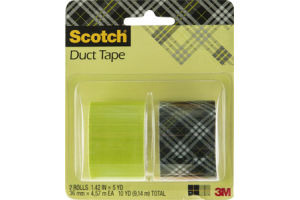 Scotch Duct Tape Plaid - 2 CT