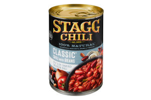 Stagg Classic Chili With Beans, 15 Ounce