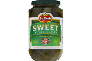 Del Monte Sweet Whole Pickles