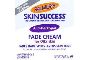 Palmer's Skin Success Anti-Dark Spot Fade Cream For OILY Skin