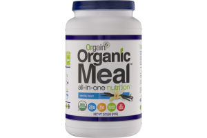 Orgain Organic Meal All-In-One Nutrition Vanilla Bean