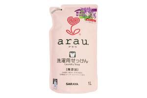Жидкость для стирки детской одежды Saraya Arau наполнитель, 1 л