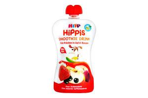 Смузі для дітей від 12міс Червоні ягоди з яблуком і бананом HiPPiS HiPP д/п 120г
