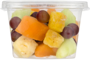 Urban Roots Pineapple, Cantaloupe, Honeydew & Grapes