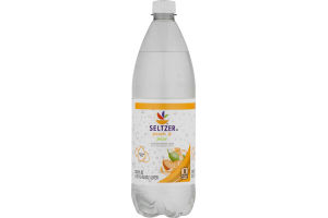 Ahold Seltzer Water Peach & Pear