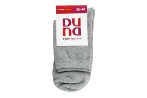 Шкарпетки жіночі Duna №8022 23-25 світло-сірий