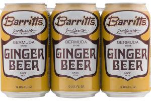 Barritts Bermuda Stone Ginger Beer - 6 PK