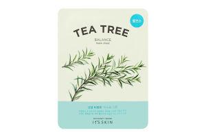 Маска для обличчя тканинна Tea Tree It's Skin 18г