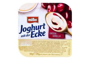 Йогурт 3.5% Вишня-ваніль Müller ст 150г