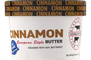Ronnybrook Farm Cinnamon European Style Butter
