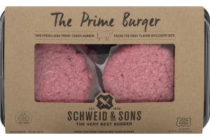 Schweid & Sons The Prime Burger