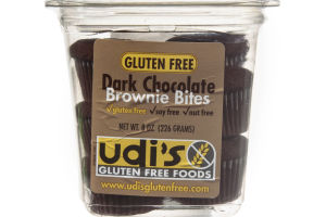 Udi's Dark Chocolate Brownie Bites Gluten Free