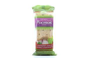 Хлібці УкрЕкоХліб Росток з гречкою 5шт 120г х45