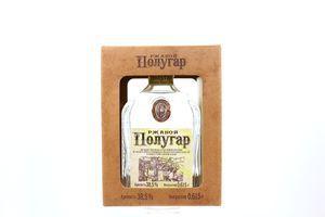 Напій Полугар Житній зерновий спиртовий 38,5% 0,615л