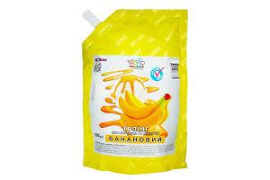 Топпинг для мороженого и десертов Банановый Топпинг д/п 500г