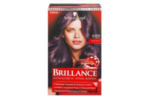 Крем-фарба для волосся Темна вишня №888 Brillance