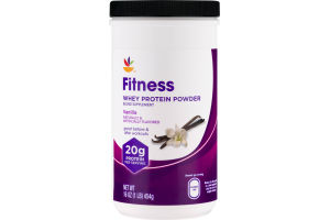 Ahold Fitness Whey Protein Powder Vanilla
