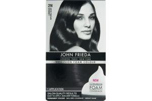 John Frieda 2N Luminous Natural Black Precision Foam Permanent Colour