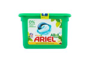 Средство моющее синтетическое жидкое в растворимых капсулах Color Ariel 15х27г