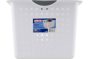 Sterilite Deep Ultra Basket White